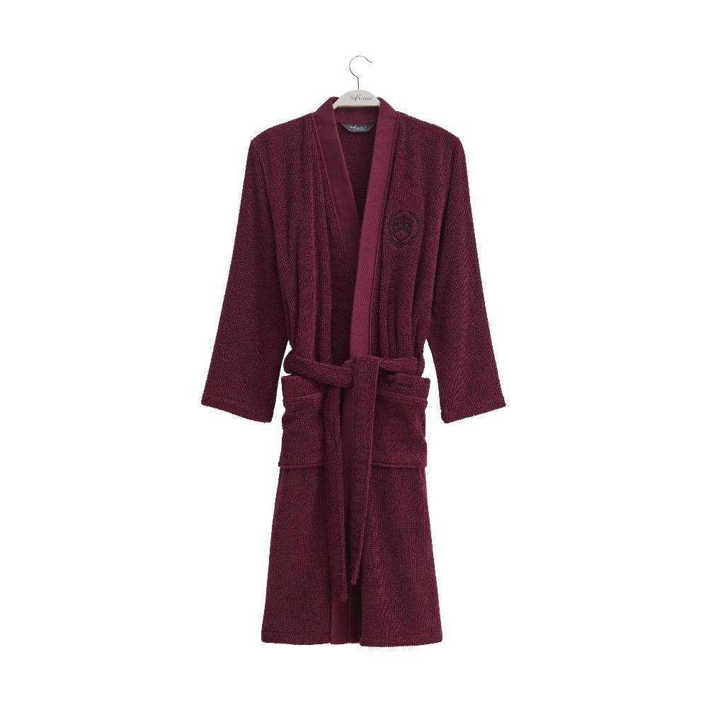 bcbbe7719f1f Халат мужской Soft Cotton Palatin (бордовый) в интернет-магазине ...