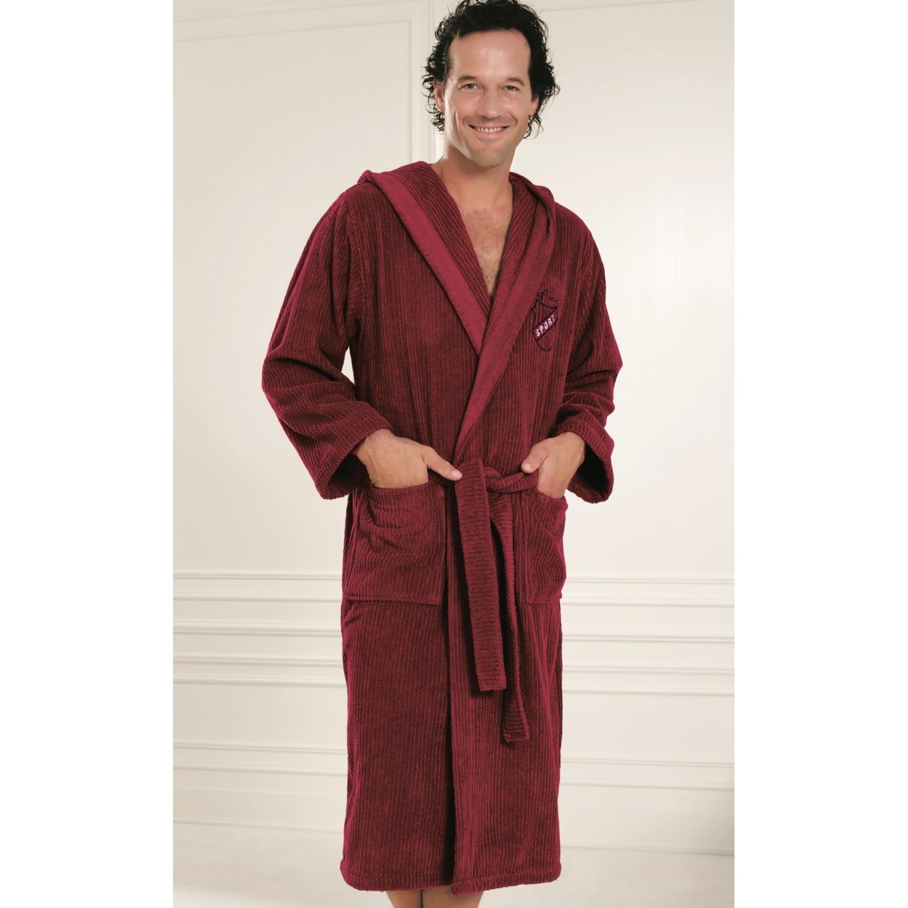 Мужские шелковые халаты унисекс