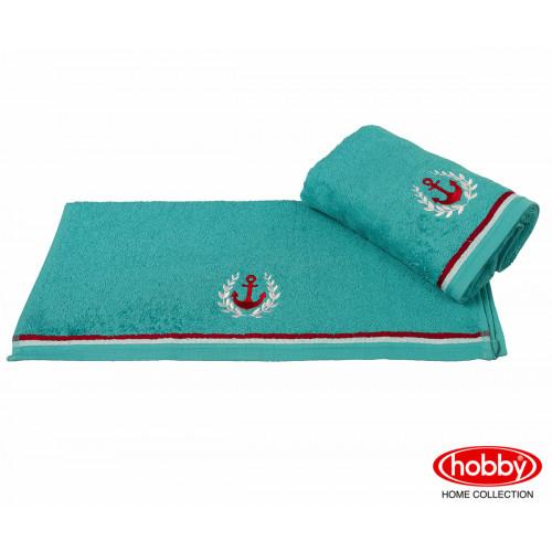 Полотенце Hobby Home Collection Maritim (бирюзовое)