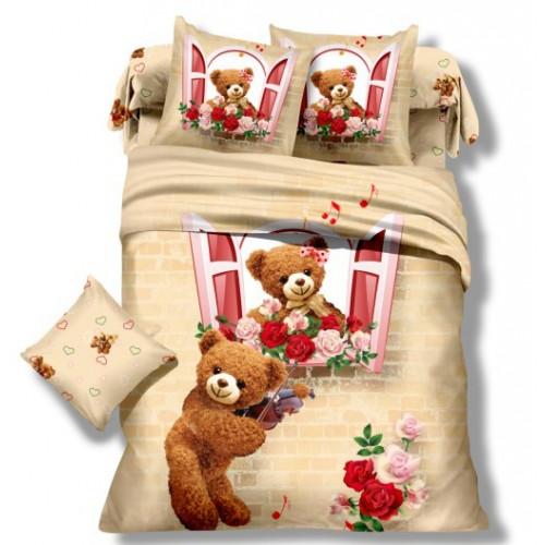 Детское постельное белье Мишки: серенада