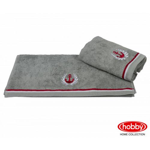 Полотенце Hobby Home Collection Maritim (серое)