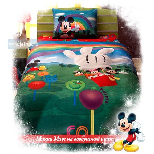 """Постельное белье """"Микки Маус на воздушном шаре"""""""
