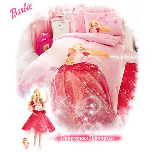 """Постельное белье """"Барби Танцующая Принцесса"""""""