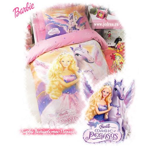 """Постельное белье """"Барби Волшебство Пегаса"""""""