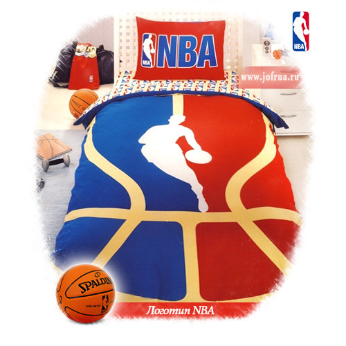 """Постельное белье """"Логотип НБА"""""""