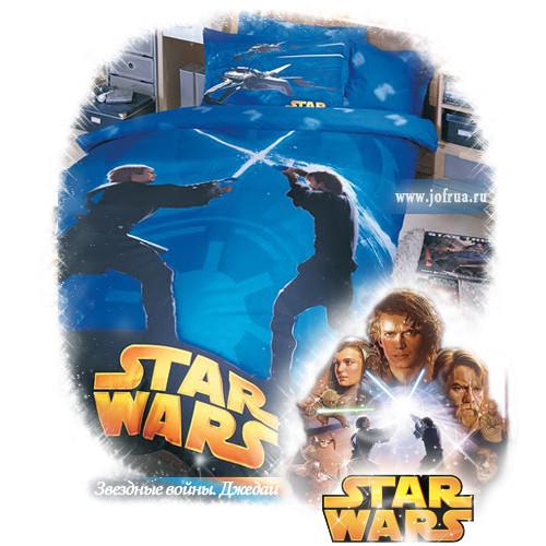 """Постельное белье """"Звездные войны. Джедаи"""""""
