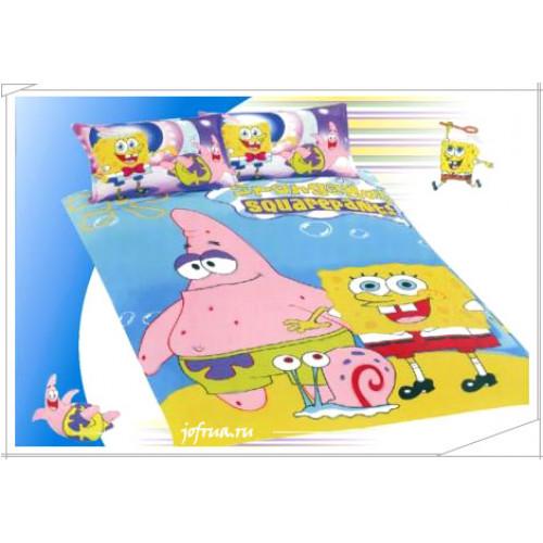 """Постельное белье """"Спанч Боб, Патрик и Гэри"""""""