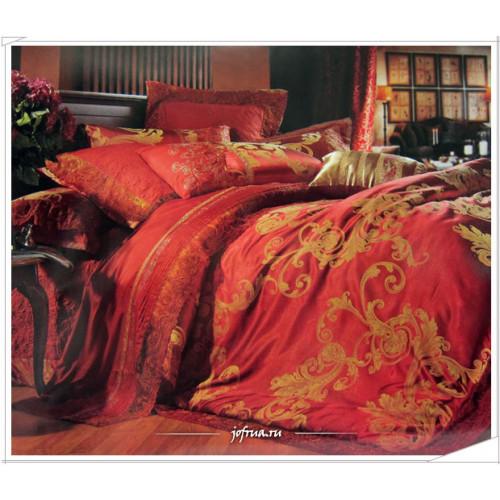 Постельное белье Famille TJ-04 с гипюром