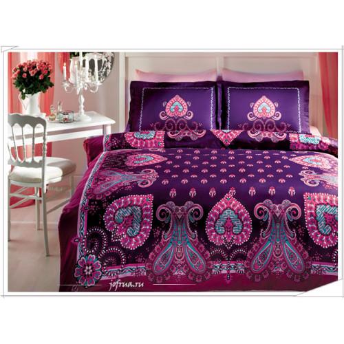 Постельное белье TAC Farrah (фиолетовое)