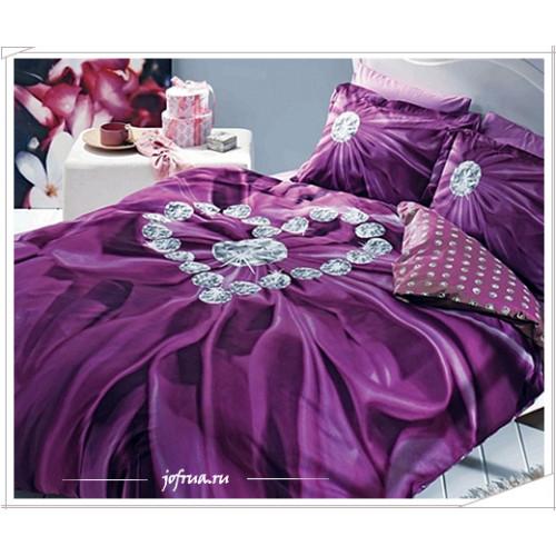 Постельное белье TAC Diana (фиолетовое)
