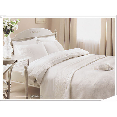 Свадебный набор Gelin Home Bade (белый) евро
