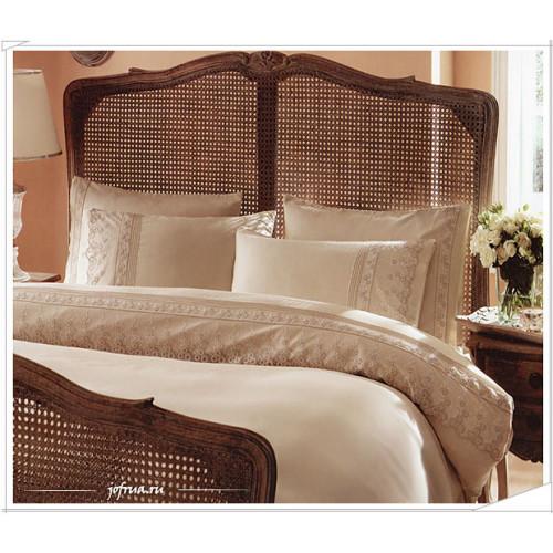 Свадебное постельное белье Gelin Home Bade (бежевое) евро