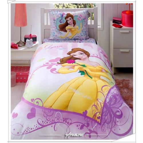 """Постельное белье """"Princess Belle Heart"""""""