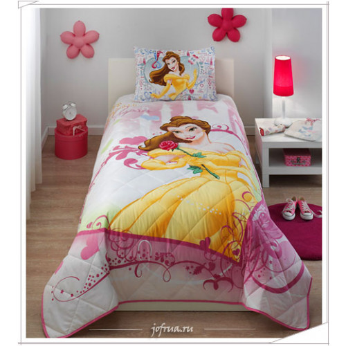 """Детское покрывало """"Princess Belle Heart"""" 1.5-спальное"""