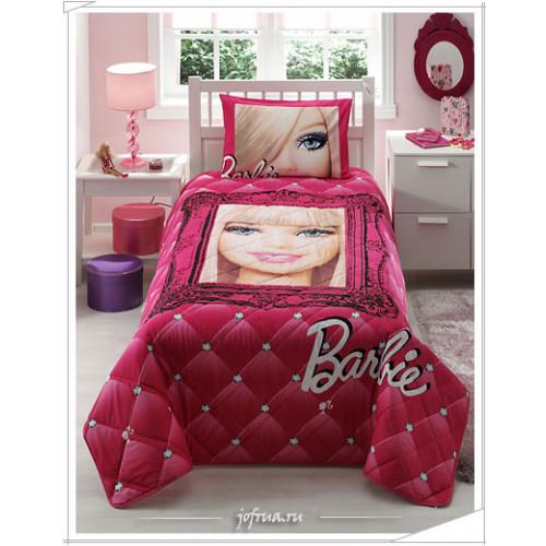 """Детское покрывало """"Барби"""" 1.5-спальное"""