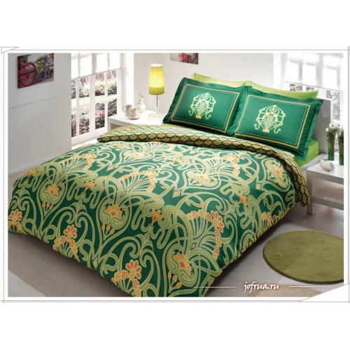 Постельное белье TAC Torium (зеленое)