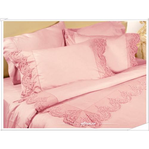 Постельное белье Grace (розовое) евро