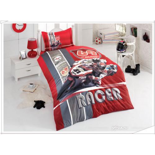 Постельное белье Karven Мотоспорт (красное)