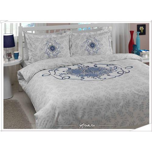 Постельное белье TAC Alissa (голубое)