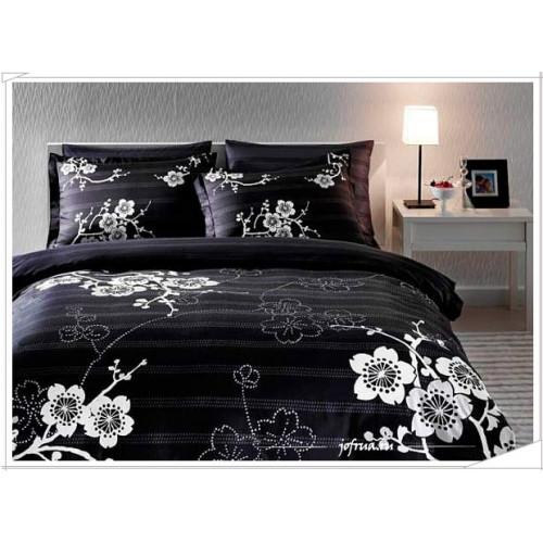 Постельное белье TAC Sakura (черное)