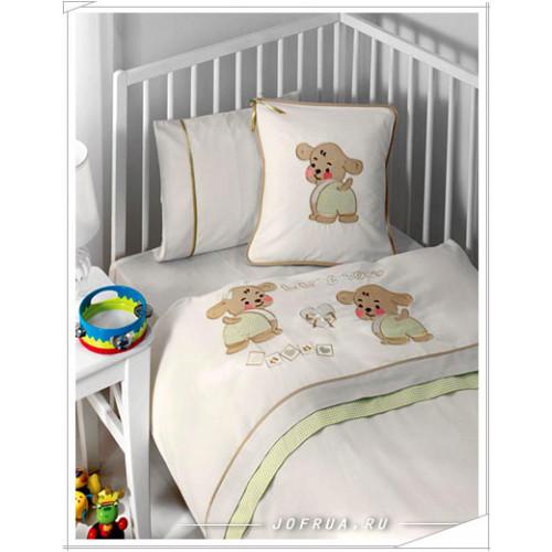Детское белье в кроватку Gelin Lily & Toby зеленое