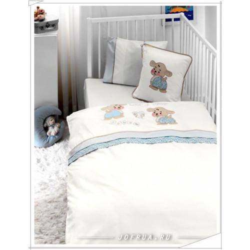 Детское белье в кроватку Gelin Lily & Toby голубое