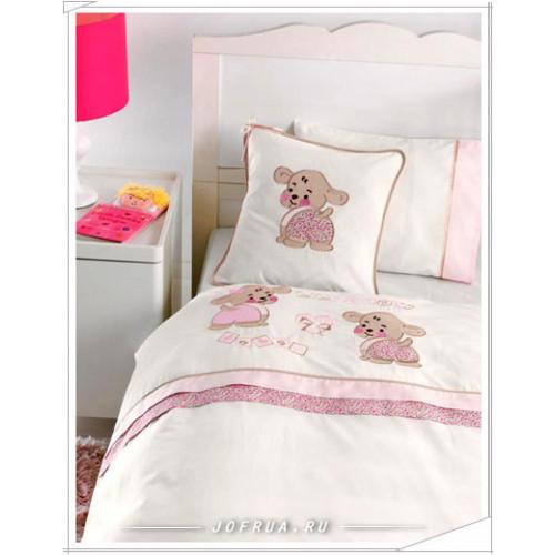 Детское белье в кроватку Gelin Lily & Toby розовое
