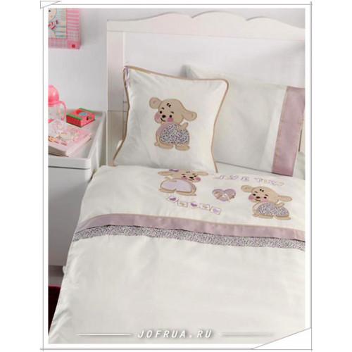 Детское белье в кроватку Gelin Lily & Toby лиловое