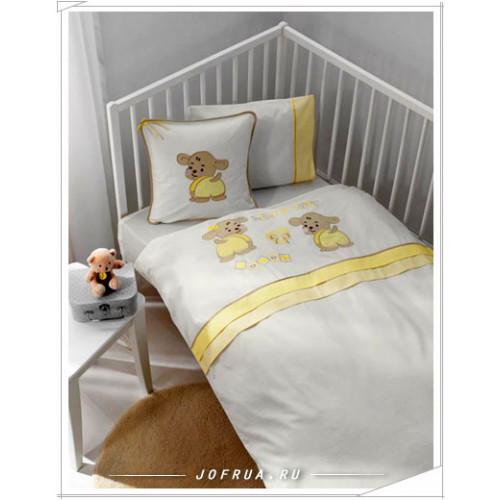 Детское белье в кроватку Gelin Lily & Toby желтое