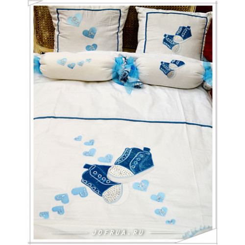 Детский набор в кроватку Gelin Home MACRO BOOTIE (11 предметов)
