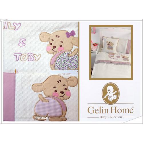 Детский набор с пледом Gelin Lily & Toby (трикотажный) лиловый
