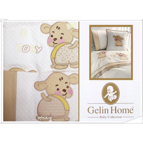Детский набор с пледом Gelin Lily & Toby (трикотажный) бежевый
