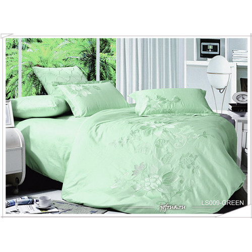 Постельное белье Kingsilk LS-009 (зеленое)