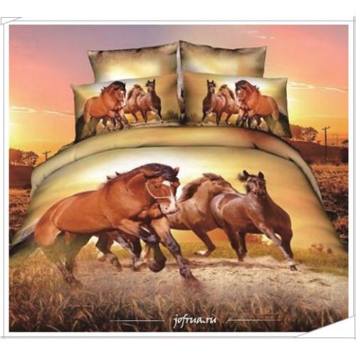 Постельное белье Karven 400 Тройка Лошадей