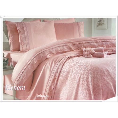 Свадебный набор Elenora (розовый) евро