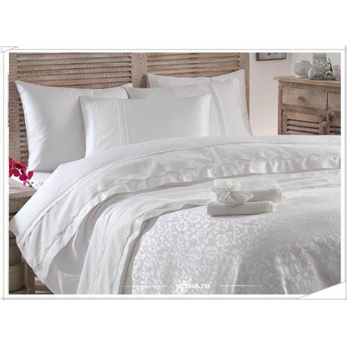 Свадебный набор Gelin Home Beste (белый) евро