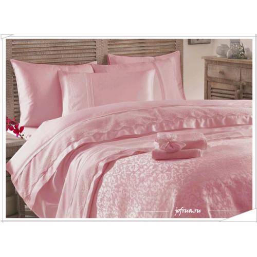 Свадебный набор Gelin Home Beste (розовый) евро