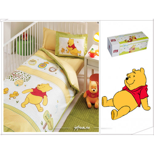 Детское белье в кроватку TAC Winnie Bony Baby