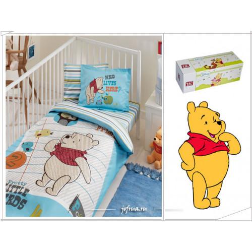Детское белье в кроватку TAC Winnie New Friends