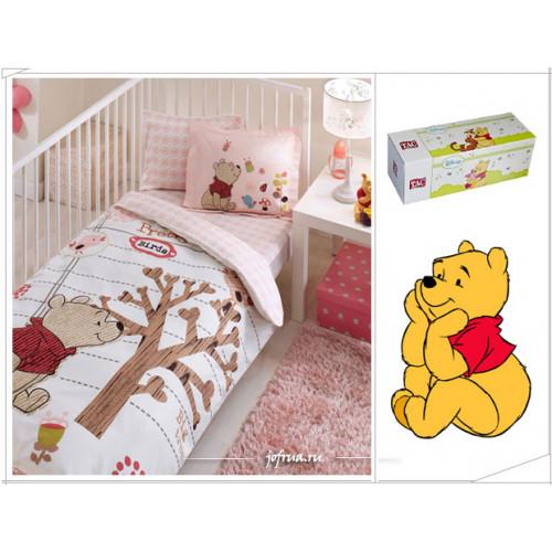 Детское белье в кроватку TAC Winnie Tweet Baby