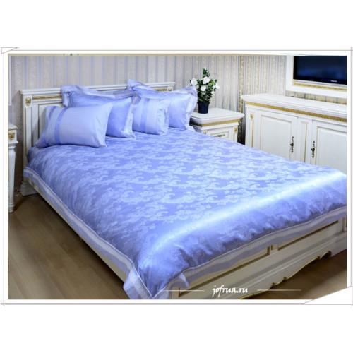 Постельное белье Anthea (дымчато-голубое) евро