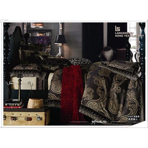 Постельное белье Famille TJ-19 с гипюром