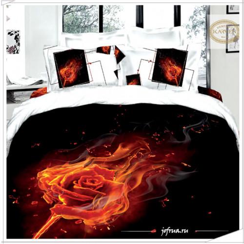 Постельное белье Karven 405 Огненная Роза