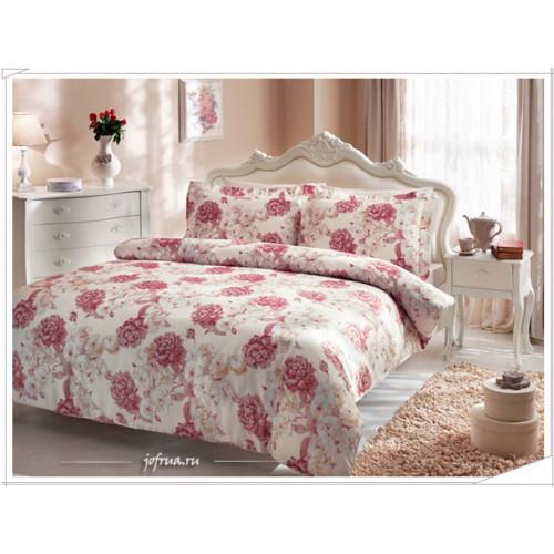 Постельное белье Tivolyo Home Rosalie (розовое)