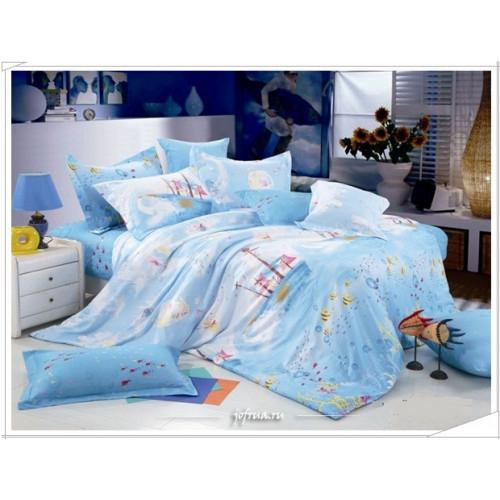 Детское постельное белье Корабли