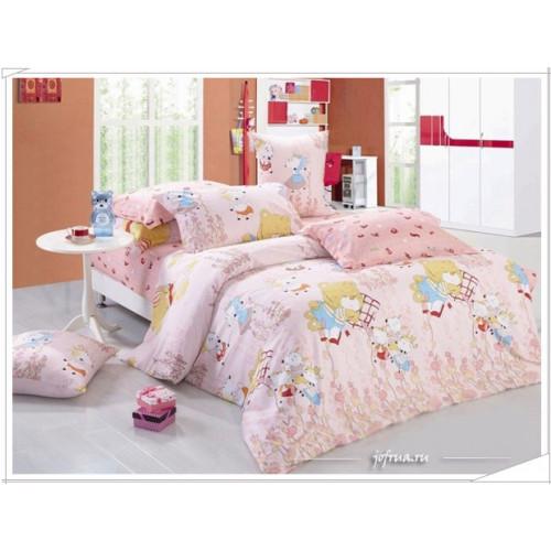 Детское постельное белье Мишки спят