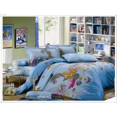 Детское постельное белье Дельфинчик