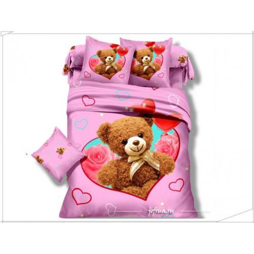 Детское постельное белье Мишки: любовь