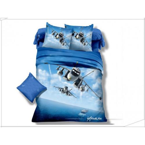 Детское постельное белье Самолеты