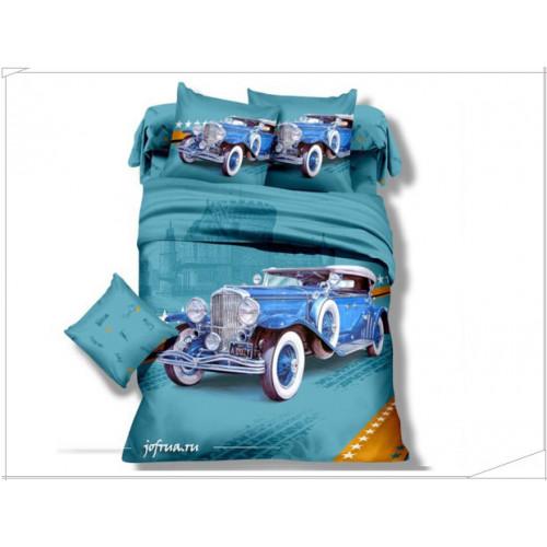 Детское постельное белье Ретро Автомобиль